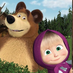 Скачать Маша и медведь: обучающие игры